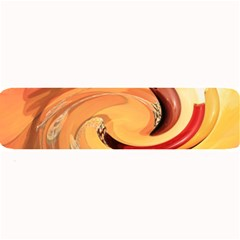 Spiral Abstract Colorful Edited Large Bar Mats