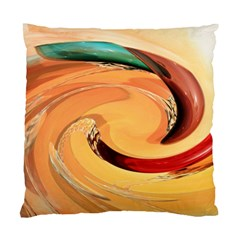 Spiral Abstract Colorful Edited Standard Cushion Case (one Side)