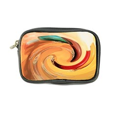 Spiral Abstract Colorful Edited Coin Purse