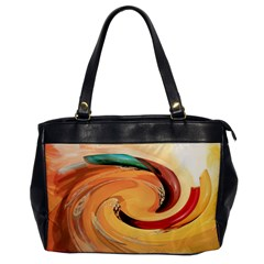 Spiral Abstract Colorful Edited Office Handbags