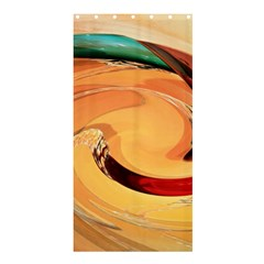 Spiral Abstract Colorful Edited Shower Curtain 36  X 72  (stall)