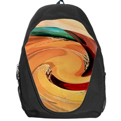 Spiral Abstract Colorful Edited Backpack Bag