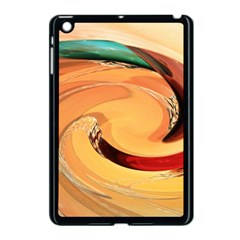 Spiral Abstract Colorful Edited Apple Ipad Mini Case (black) by Nexatart