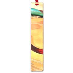 Spiral Abstract Colorful Edited Large Book Marks