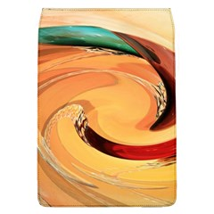 Spiral Abstract Colorful Edited Flap Covers (l)