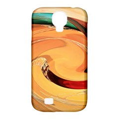 Spiral Abstract Colorful Edited Samsung Galaxy S4 Classic Hardshell Case (pc+silicone) by Nexatart
