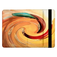 Spiral Abstract Colorful Edited Samsung Galaxy Tab Pro 12 2  Flip Case by Nexatart