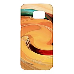 Spiral Abstract Colorful Edited Samsung Galaxy S7 Edge Hardshell Case
