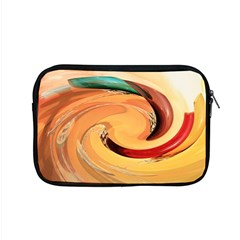 Spiral Abstract Colorful Edited Apple Macbook Pro 15  Zipper Case by Nexatart