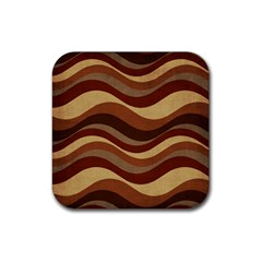 Backgrounds Background Structure Rubber Square Coaster (4 Pack)