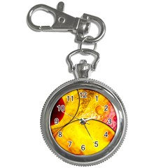 Abstract Water Oil Macro Key Chain Watches