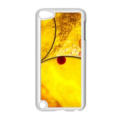 Abstract Water Oil Macro Apple Ipod Touch 5 Case (white)