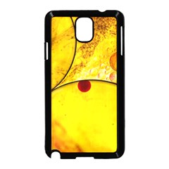 Abstract Water Oil Macro Samsung Galaxy Note 3 Neo Hardshell Case (black)