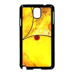 Abstract Water Oil Macro Samsung Galaxy Note 3 Neo Hardshell Case (black) by Nexatart