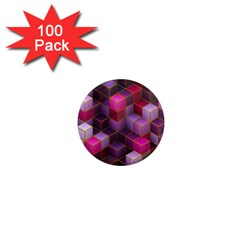 Cube Surface Texture Background 1  Mini Magnets (100 Pack)