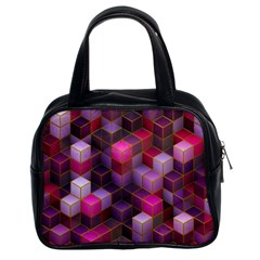 Cube Surface Texture Background Classic Handbags (2 Sides)