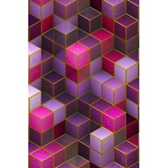 Cube Surface Texture Background 5 5  X 8 5  Notebooks
