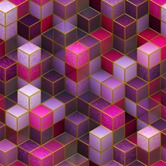 Cube Surface Texture Background Magic Photo Cubes