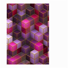 Cube Surface Texture Background Small Garden Flag (two Sides)