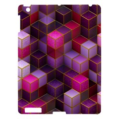 Cube Surface Texture Background Apple Ipad 3/4 Hardshell Case