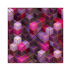 Cube Surface Texture Background Acrylic Tangram Puzzle (6  X 6 )
