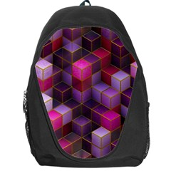 Cube Surface Texture Background Backpack Bag