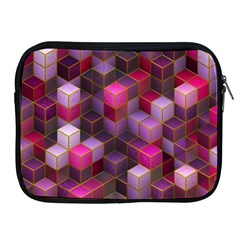 Cube Surface Texture Background Apple Ipad 2/3/4 Zipper Cases