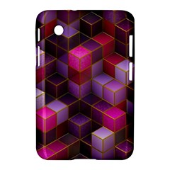 Cube Surface Texture Background Samsung Galaxy Tab 2 (7 ) P3100 Hardshell Case