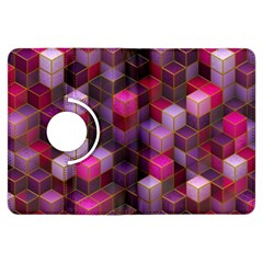Cube Surface Texture Background Kindle Fire Hdx Flip 360 Case