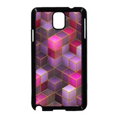 Cube Surface Texture Background Samsung Galaxy Note 3 Neo Hardshell Case (black)