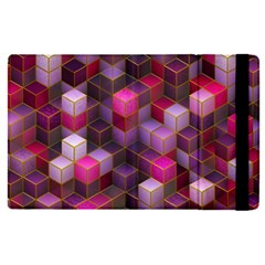 Cube Surface Texture Background Apple Ipad Pro 9 7   Flip Case