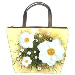 Summer Anemone Sylvestris Bucket Bags