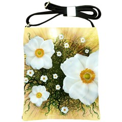 Summer Anemone Sylvestris Shoulder Sling Bags