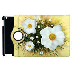 Summer Anemone Sylvestris Apple Ipad 3/4 Flip 360 Case