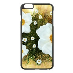 Summer Anemone Sylvestris Apple Iphone 6 Plus/6s Plus Black Enamel Case by Nexatart