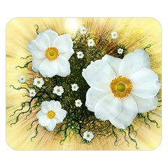 Summer Anemone Sylvestris Double Sided Flano Blanket (small)