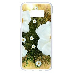 Summer Anemone Sylvestris Samsung Galaxy S8 Plus White Seamless Case by Nexatart