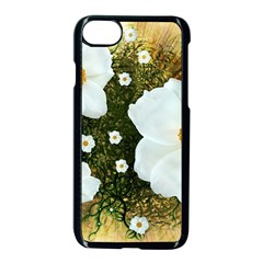 Summer Anemone Sylvestris Apple Iphone 8 Seamless Case (black)