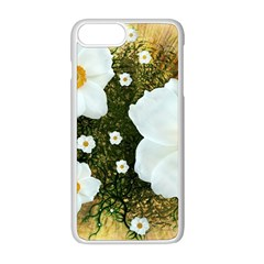 Summer Anemone Sylvestris Apple Iphone 8 Plus Seamless Case (white) by Nexatart