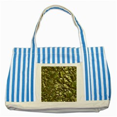 Seamless Repeat Repetitive Striped Blue Tote Bag