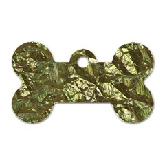 Seamless Repeat Repetitive Dog Tag Bone (two Sides)
