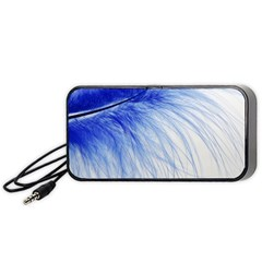 Feather Blue Colored Portable Speaker