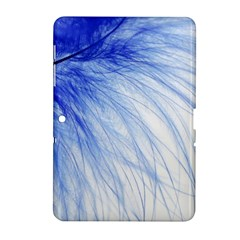 Feather Blue Colored Samsung Galaxy Tab 2 (10 1 ) P5100 Hardshell Case