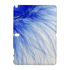 Feather Blue Colored Galaxy Note 1