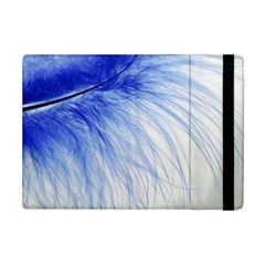 Feather Blue Colored Ipad Mini 2 Flip Cases