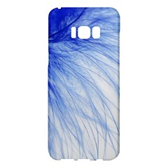 Feather Blue Colored Samsung Galaxy S8 Plus Hardshell Case
