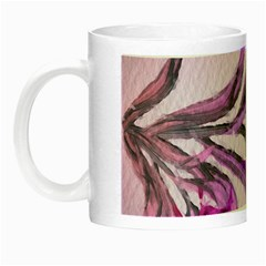 Flowers Flower Purple Flower Night Luminous Mugs