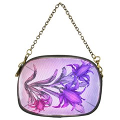 Flowers Flower Purple Flower Chain Purses (two Sides)