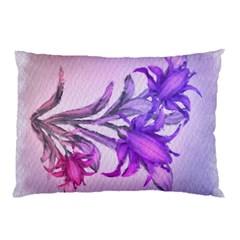 Flowers Flower Purple Flower Pillow Case