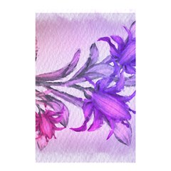 Flowers Flower Purple Flower Shower Curtain 48  X 72  (small)